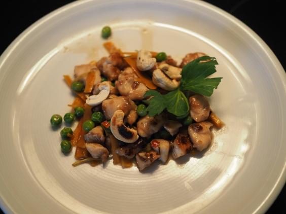 Thai-Poulet mit Cashew-Nüssen